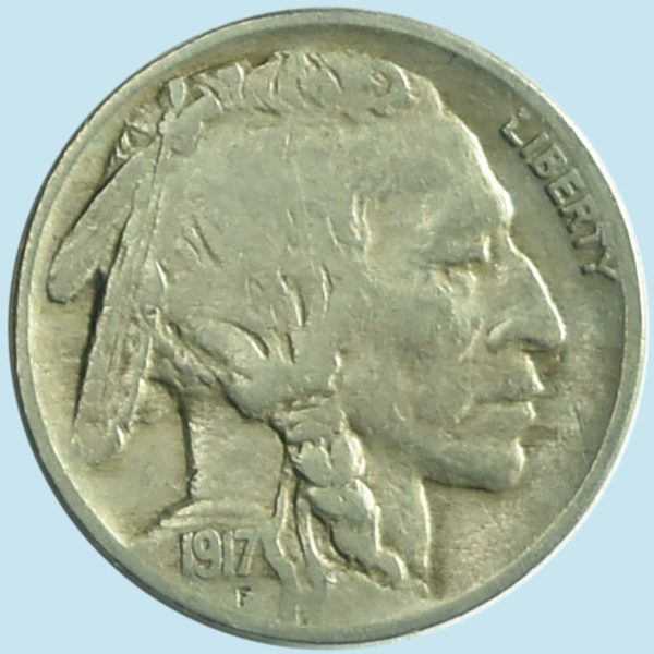 1917 Buffalo Nickel. Very Fine.