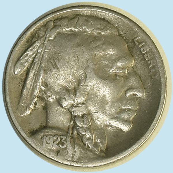 1923-S Buffalo Nickel. Fine+.